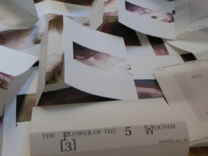 eco_045: The Flower Of The 5 Wounds – [3] - Hand Painted Covers