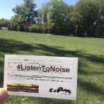 #ListenToNoise in Reims, France