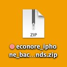 econore iphone wallpapers zip icon