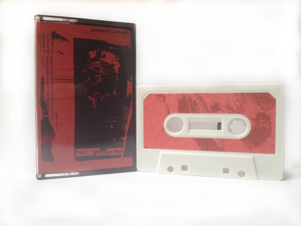 eco_093 Crimson Cream – The Solifugae Nest (Cassette)
