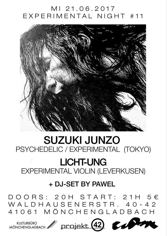 Econore Experimental Night 11 Suzuki Junzo Lichtung